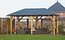 Gartenpavillon Superior ca. 590x340 cm