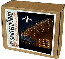 Gartenpirat Eisregen Lichterkette 6m 240 LED-Mix