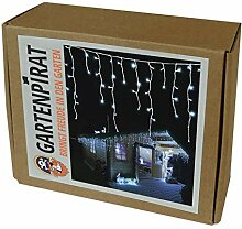 Gartenpirat LED Eisregen Lichterkette 240 LED