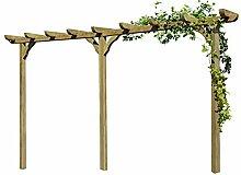 Gartenpirat Pergola aus Holz Torbogen Rankhilfe