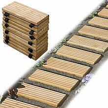 Gartenpirat Rollweg Holz 25x250 cm Gartentritte
