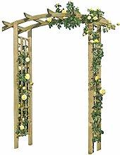 Gartenpirat Rosenbogen aus Holz 160x72x210 cm