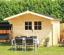 Gartenpro Blockbohlenhaus Tom