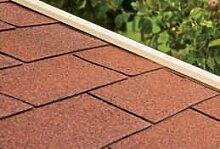Gartenpro Dachschindeln - Farbe: rotbraun
