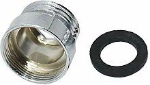 Gartenschlauch-Adapter 10pcs Silber 1/2 bis M22