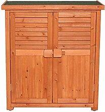 Gartenschrank Outdoor-Holz-Speicher-Schließfach
