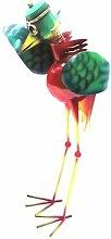 Gartenskulptur Vogel Gartendeko Metall