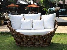 Gartensofa 2-Sitzer CORDOBA - Rattan