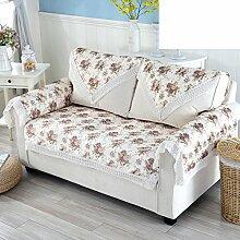Gartensofa Handtuch Four Seasons universal Stoff Sofa Handtuch Decken Sie Handtücher B 100x100cm(39x39inch)