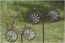 Gartenstab Fahrrad 2sort H132 Material: Eisen