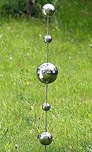 Gartenstab Galaxy Gartenstecker Stecker Edelstahl