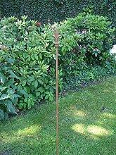 Gartenstab, Rankstab, Rosenstab, 150 cm, Spitze,