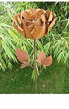 Gartenstecker Beetstecker Rose ros