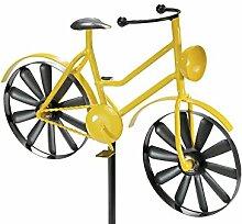 Gartenstecker Fahrrad Dekostecker Gartendeko Metalldeko für Gartengestaltung