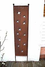 Gartenstecker Sterne Schild Rost Stern Stecker