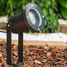 Gartenstrahler in Schwarz - Gartenbeleuchtung -