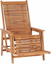 Gartenstuhl Hochlehner Verstellbar Liegestuhl Holz