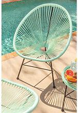 Gartenstuhl New Acapulco Grün Aquamarine Sklum
