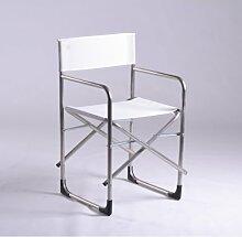 Gartenstuhl Regiestuhl Fiam - Aluminium, texfil, TX BI - Weiß