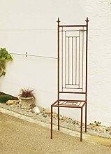 Gartenstuhl Rost Eisen Motiv Modern Stuhl*