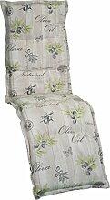 Gartenstuhlauflage Sitzkissen Polster Stuhlkissen