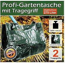 Gartentasche Gartensack mit Tragegriffen 275 Liter