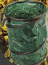 Gartentasche Gartensack Rund stehend mit Tragegriffen 90 Liter 3 Stück
