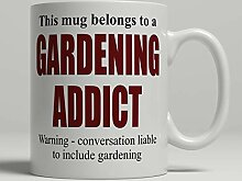 Gartentasse Gartenarbeit Kaffeetasse Gärtner