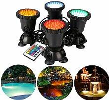 Gartenteich Lampe RGB Aquarium Licht 8W