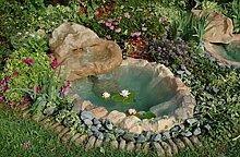 Gartenteich Wasserfall Mini Tivoli CM185X 120komplett mit Pumpe Abgasrückführungsventil
