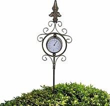 Gartenthermometer Praktisch dekorativ Metall