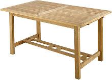 Gartentisch aus massivem Teakholz, B150 Oléron