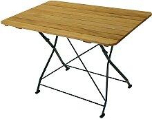 Gartentisch aus Robinie massiv klappbar