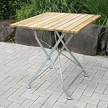 Gartentisch BAD TÖLZ 70x70 cm verzinkt,