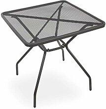 Gartentisch Balkontisch Streck-Metall-Tisch