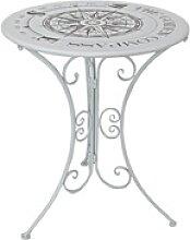 Gartentisch »Bayo« rund Ø 60 cm weiß, Garden