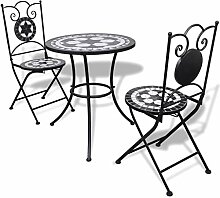 Gartentisch/Bistro-Tisch, Mosaikset Gartenset 1