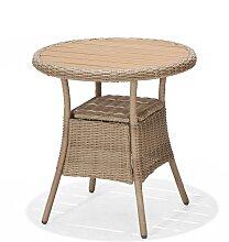 Gartentisch - Coco 70 cm - Hellbraun