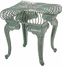 Gartentisch CP301, Metalltisch ~ antik-grün