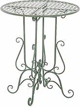 Gartentisch CP303, Metalltisch ~ antik-grün