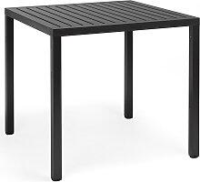 Gartentisch - Cube - 80x80 - Anthrazit