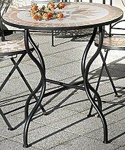 Gartentisch Florenza, Mosaik Möbel im Mediterrane