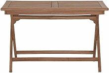 Gartentisch Holz massiv klappbar rechteckig