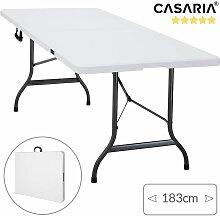 Gartentisch klappbar mit Tragegriff 183x76 cm