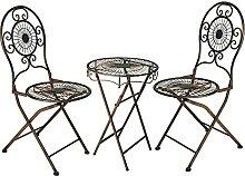 Gartentisch Klassiker Ornament Tisch D=50 cm