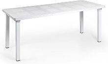 Gartentisch - Levante - ausziehbar - Weiß