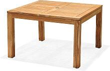 Gartentisch - Luna 105x105 cm - Hellbraun