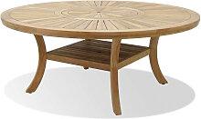 Gartentisch - Luna 180cm - Hellbraun
