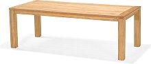 Gartentisch - Luna 220x100 cm - Hellbraun