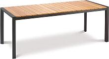 Gartentisch - Paros 210x90 cm - Anthrazit
